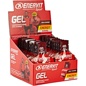 Enervit Sport Gel Sacoche 24x25ml, Cola